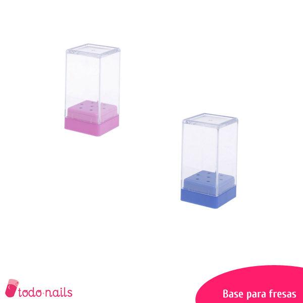 Base para fresas de torno de uñas