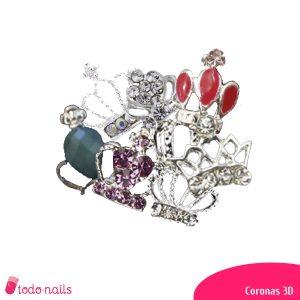 Coronas 3D para uñas