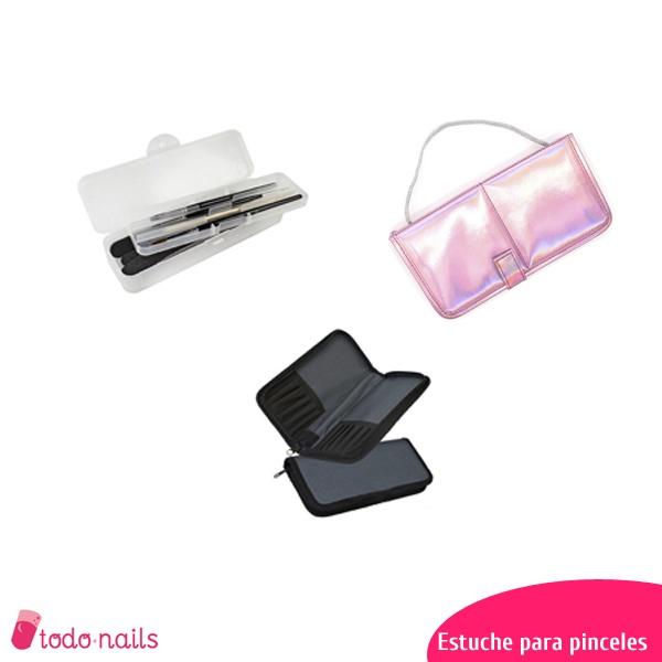 Estuches para pinceles de uñas