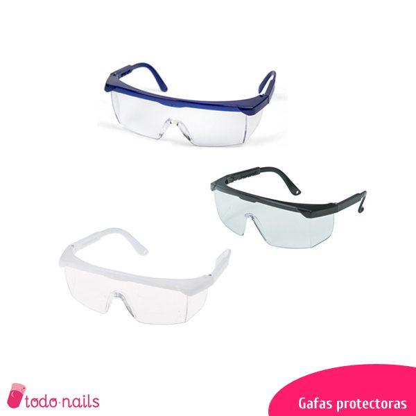 Gafas protectoras para estética de uñas