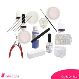 Kit para uñas de acrílico