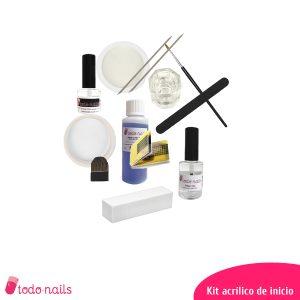 Kit de uñas de acrílico para iniciación