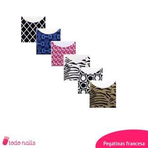 Pegatinas para la francesa de las uñas