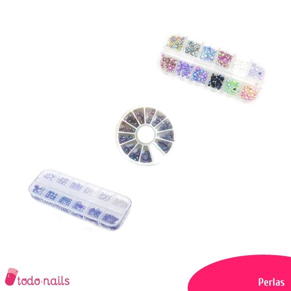 Perlas para uñas