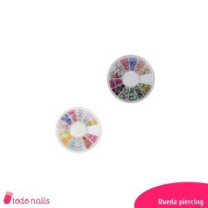 Rueda Piercings para uñas