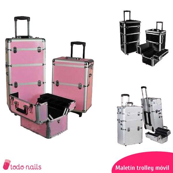 Maletín trolley: estudio de manicura móvil