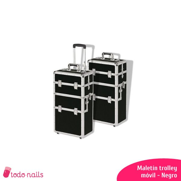 Maletín trolley Negro