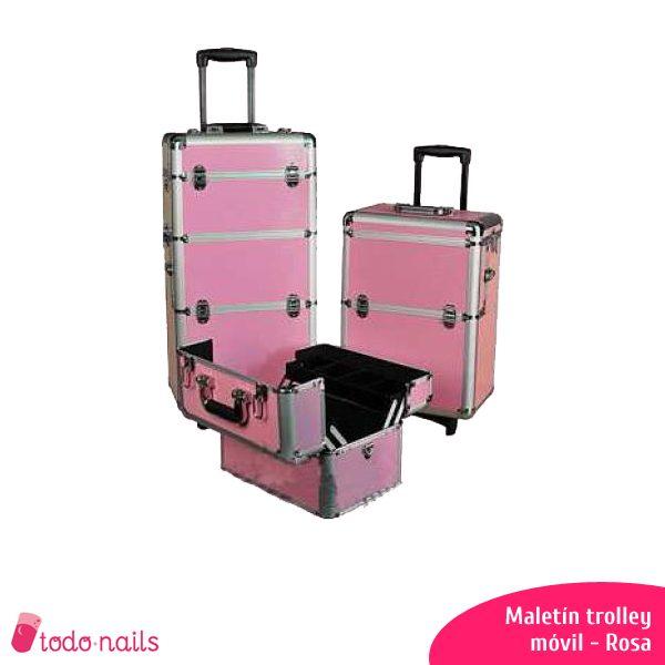 Maletín trolley Rosa