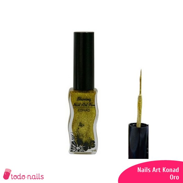 Nails Art Konad - Oro