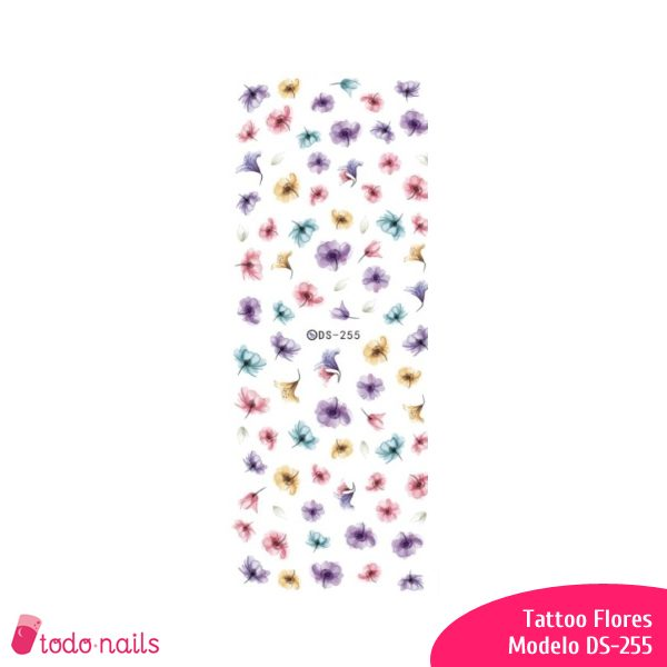 Tattoo Flores DS-255