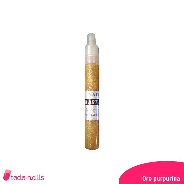 Lapiz-3d-oro-purpurina