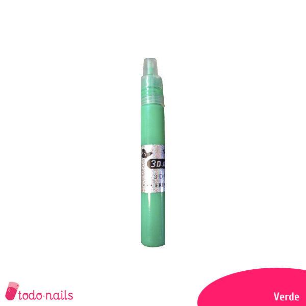 Lapiz-3d-verde