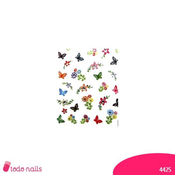Pegatina-mariposa-4425