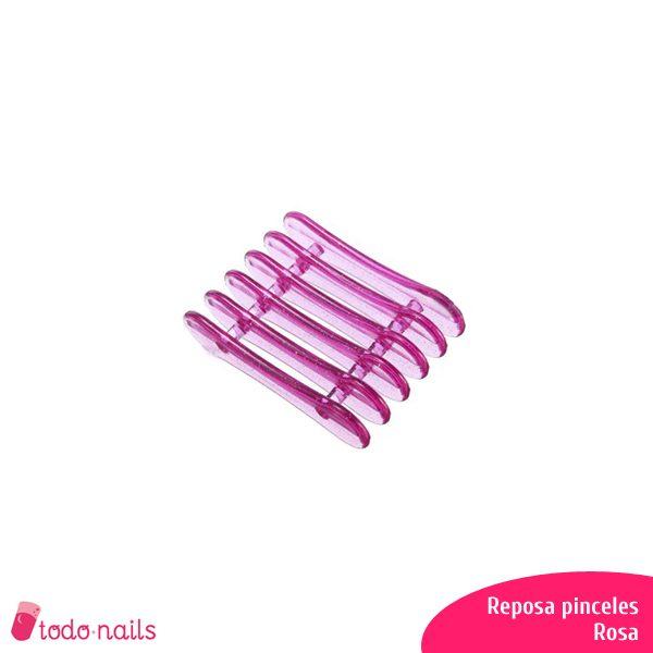 Reposa-pinceles-rosa