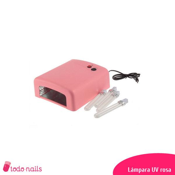Lámapara-UV-rosa