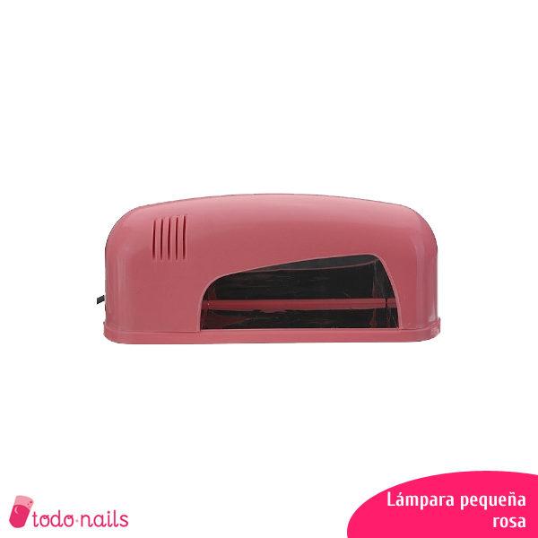Lámpara-UV-pequeña-rosa