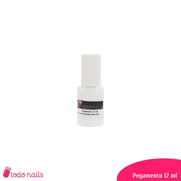Pegamento para uñas 12 ml con pincel de aplicación