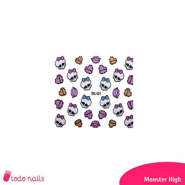 Pegatina-Monster-high