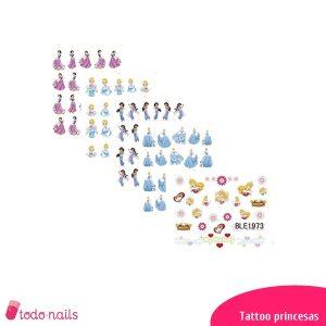 Tattoos Princesas Dibujos Animados