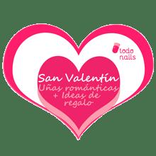 Uñas románticas y regalos por San Valentín!!