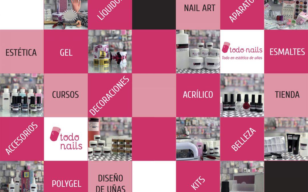 Todo Nails: La tienda que lo tiene todo en estética de uñas