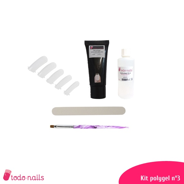 Kit de polygel nº 3