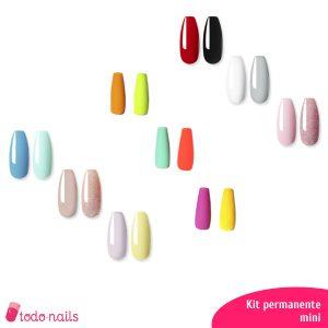 Kits de esmaltes permanentes mini