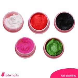 Geles plastilina para uñas