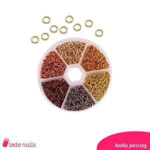 Piercing de anillas o aros para uñas