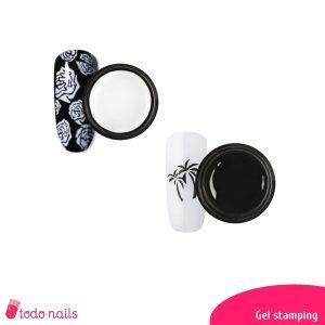 Gel stamping para estampado de uñas