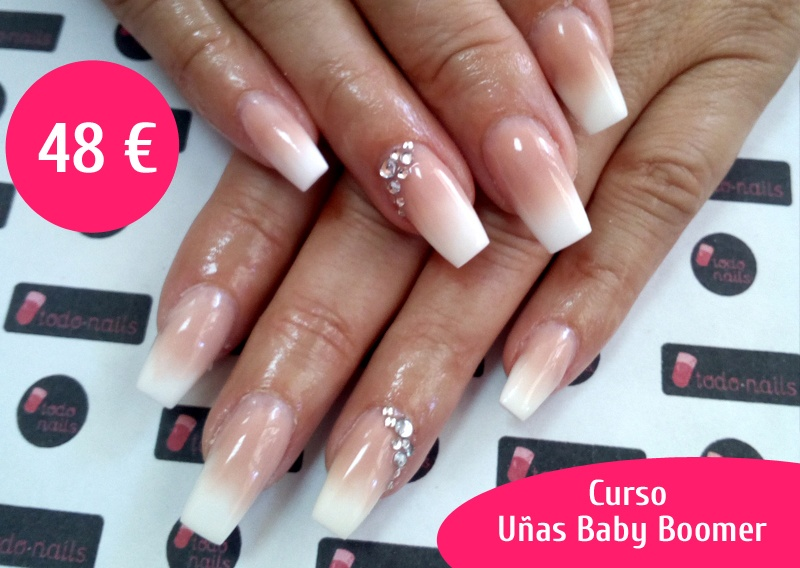 Curso de uñas Baby Boomer en Málaga